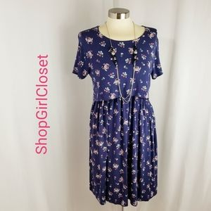 💥Just In💥Asos Blue Floral Dress...Size 4